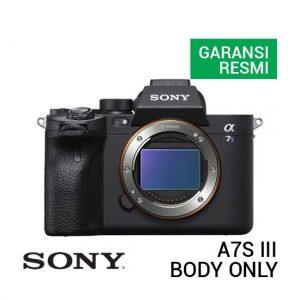 Jual Sony A7S III Body Only Harga Murah Terbaik dan Spesifikasi