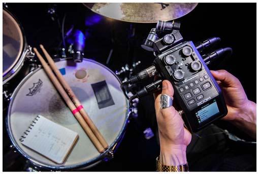 Jual Zoom H6 Black Handy Recorder Harga Murah dan Spesifikasi