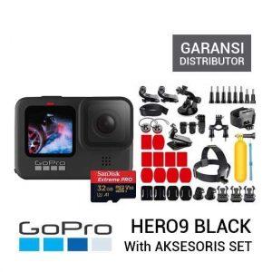 GoPro HERO9 Black Paket Aksesoris Set New Thumb