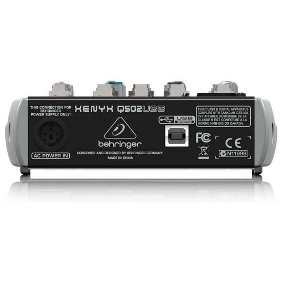 Jual Behringer Xenyx Q502USB Audio Mixer Harga Terbaik dan Spesifikasi