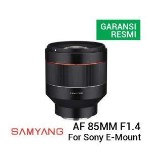 Jual Samyang AF 85mm f1.4 for Sony E-Mount Harga Terbaik dan Spesifikasi