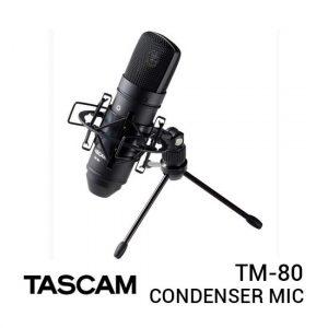 Jual Tascam TM-80 Condenser Microphone Black Harga Terbaik dan Spesifikasi