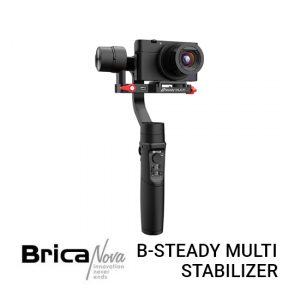 Jual Brica B-Steady Multi 3-axis Compact Camera Gimbal Harga murah dan Spesifikasi. 3600mAH battery for longer use time, Zoom control, Panorama mode.