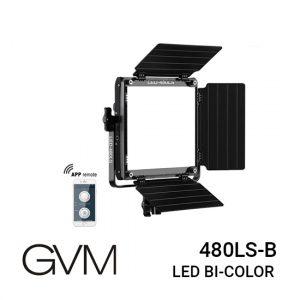jual GVM LED Bi-Color Light 480LS-B, Ringan dan tahan lama, Memiliki Rentang dua warna variabel dari 2300K-6800K, Lumen tinggi :15000Lux/20inch
