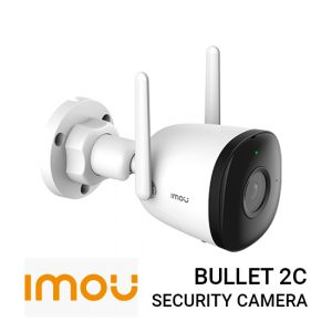 Jual Imou Bullet 2c IPC-F22P Harga murah dan Spesifikasi. Smart Monitoring Human Detection, 1080P Full HD Video & H.265 Compression, Weatherproof.