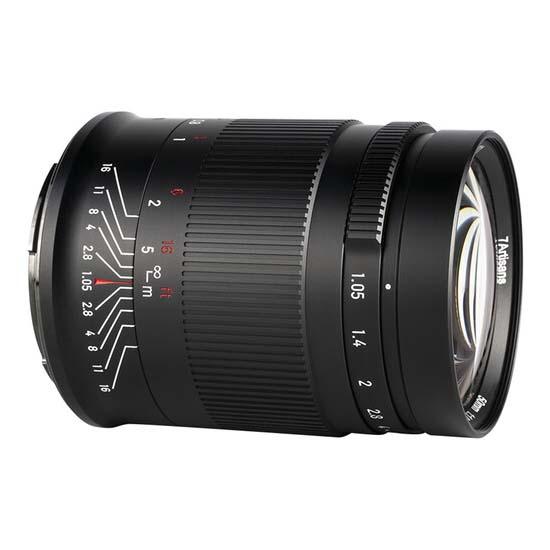 Jual 7Artisans 50mm f1.05 for Canon RF Harga Terbaik dan Spesifikasi