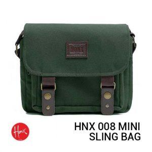 Jual HONX HNX 008 Mini Sling Bag Green Harga Murah dan Spesifikasi