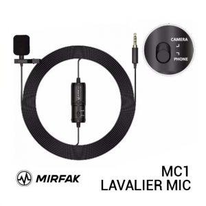 Jual Mirfak MC1 Lavalier Microphone Harga Murah dan Spesifikasi