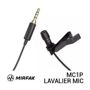 Jual Mirfak MC1P 3.5mm Lavalier Microphone Harga Murah dan Spesifikasi