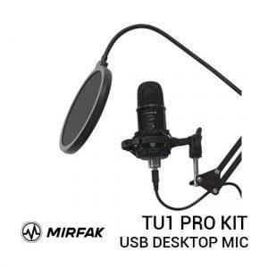 Jual Mirfak TU1 Pro Kit USB Desktop Microphone Harga Murah Terbaik dan Spesifikasi