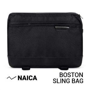 Jual Naica Boston Sling Bag Black Harga Murah dan Spesifikasi