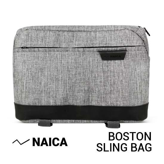 Jual Naica Boston Sling Bag Grey Harga Murah dan Spesifikasi