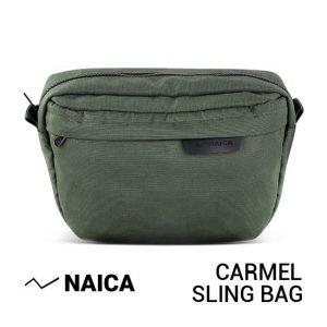 Jual Naica Carmel Sling Bag Green Harga Murah dan Spesifikasi
