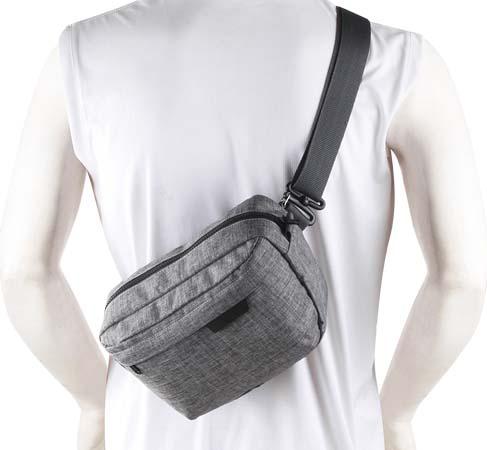 Jual Naica Carmel Sling Bag Grey Harga Murah dan Spesifikasi