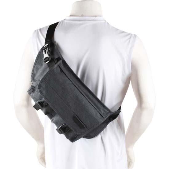 Jual Naica Devon Sling Bag Charcoal Harga Murah dan Spesifikasi