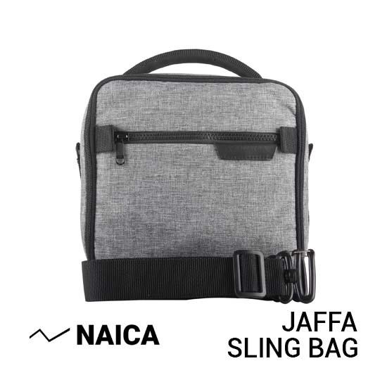 Jual Naica Jaffa Sling Bag Grey Harga Murah dan Spesifikasi