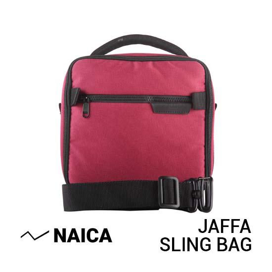 Jual Naica Jaffa Sling Bag Red Harga Murah dan Spesifikasi