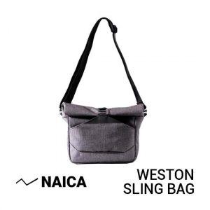 Jual Naica Weston Sling Bag Grey Harga Murah dan Spesifikasi