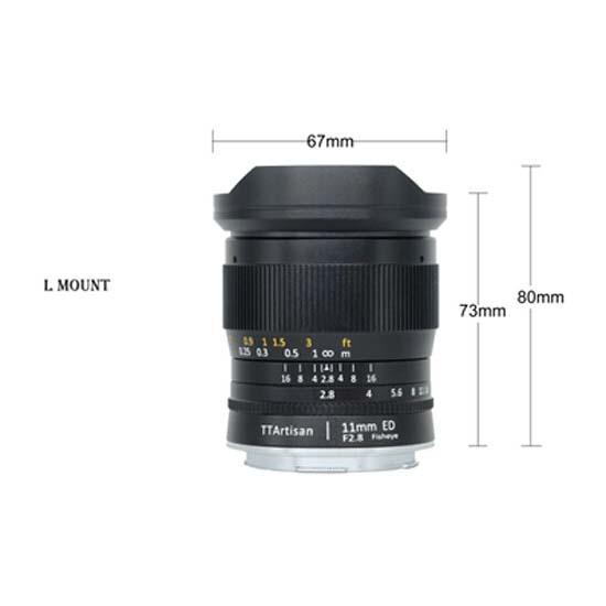 Jual TTArtisans 11mm F2.8 for Leica L-Mount Black Harga Murah dan Spesifikasi