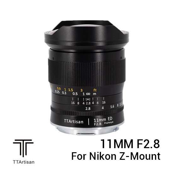 Jual TTArtisans 11mm F2.8 for Nikon Z-Mount Black Harga Murah dan Spesifikasi