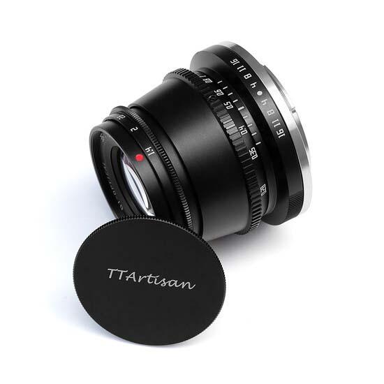 Jual TTArtisans 35mm F1.4 for EOS M-Mount Black Harga Murah dan Spesifikasi