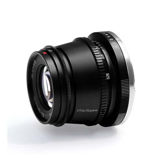 Jual TTArtisans 35mm F1.4 for Leica L-Mount Black Harga Murah dan Spesifikasi