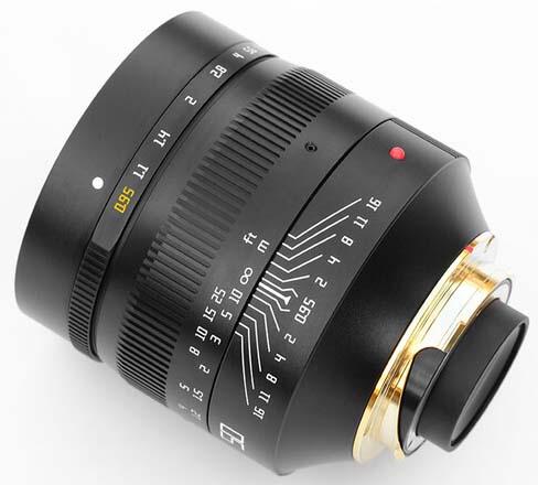 Jual TTArtisans 50mm F0.95 for Leica M-Mount Black Harga Terbaik dan Spesifikasi