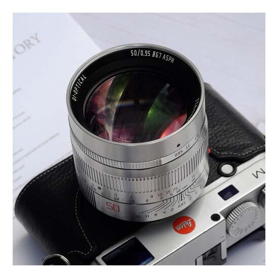 Jual TTArtisans 50mm F0.95 for Leica M-Mount Silver Harga Terbaik dan Spesifikasi