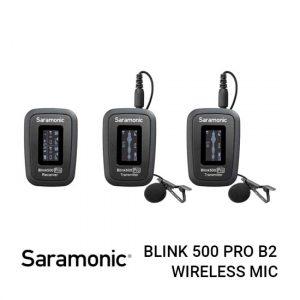 Jual Saramonic Blink 500 Pro B2 Wireless Microphone System Harga murah terbaik dan Spesifikasi lengkap