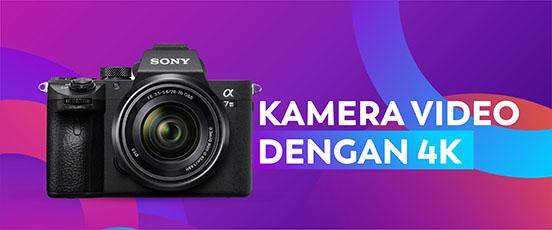 kamera videografi 4k terlaris