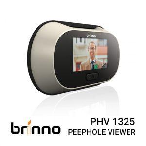 "Jaual Brinno PHV 1325 Harga Murah dan Spesifikasi. Fits 35-57mm Thick Doors, Single-Button Operation, 1.3 MP CMOS Sensor / 2.5"" LCD,Zoom Function."