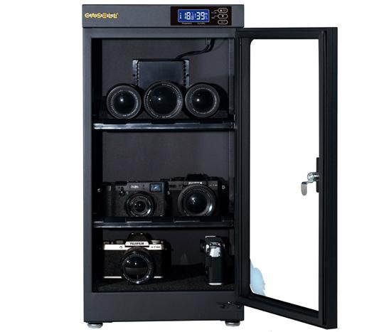 Jual Casell CL-50A Dry Cabinet Harga Murah dan Spesifikasi. Internal Size : 28.8 x 29 x 53 cm, External Size : 29 x 32 x 60.5cm, Input : 5V 2A DC.