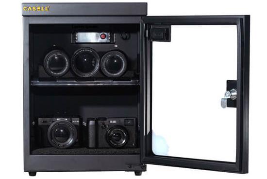 Jual Casell CL-30C Dry Cabinet Harga Murah dan Spesifikasi. Electronically controlled dehumidifier, Menyesuaikan kelembaban Relatif dari 20-60%.