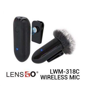 Jual Lensgo LWM-318C Single Wireless Microphone Harga Murah dan Spesifikasi