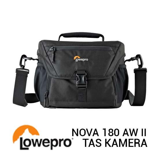 Jual Lowepro Nova 180 AW II Black Harga Terbaik dan Spesifikasi
