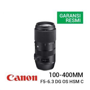 Jual Sigma 100-400mm F5-6.3 DG OS HSM C for Canon EF Harga Terbaik dan Spesifkasi