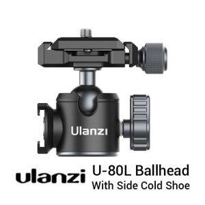 Jual Ulanzi U-80L Ballhead with Side Cold Shoe Harga Murah dan Spesifikasi