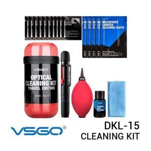 Jual VSGO DKL-15 Travel Cleaning Kit Harga Murah dan Spesifikasi