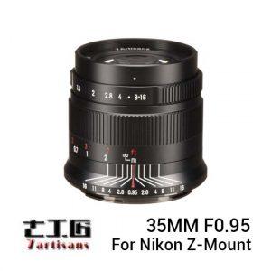 Jual 7Artisans 35mm f0.95 for Nikon Z Mount Black Harga Murah dan Spesifikasi