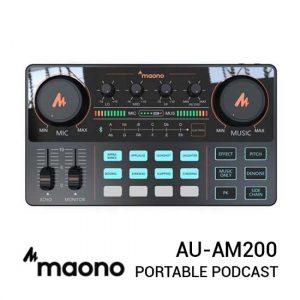 Jual Maonocaster Lite AU-AM200 Portable Podcast Harga Murah dan Spesifikasi