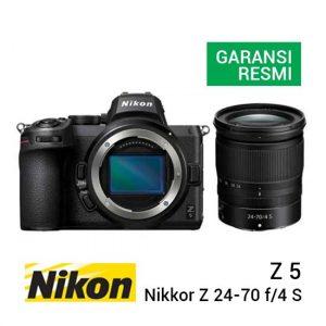 Jual Nikon Z 5 Kit Nikkor Z 24-70 f4 S Harga Murah dan Spesifikasi