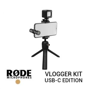 Jual Rode Vlogger Kit with USB Type-C Port Harga Murah dan Spesifikasi
