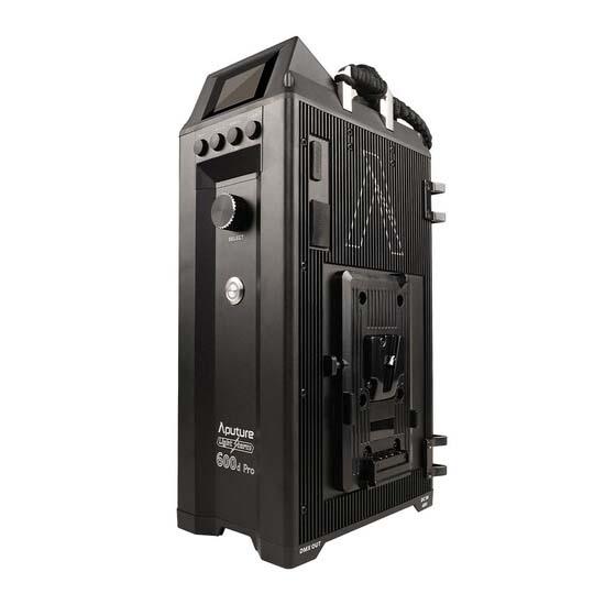Jual Aputure LS-600d Pro Daylight LED Light (V-mount) Harga dan Spesifikasi