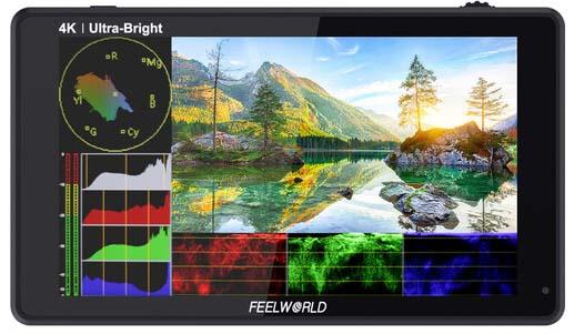 Jual Feelworld LUT6 6inch 4K HDMI Monitor Harga Murah dan Spesifikasi