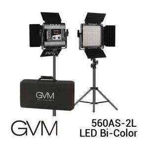 Jual GVM 560AS-2L LED Bi-Color Light Harga Murah dan Spesifikasi