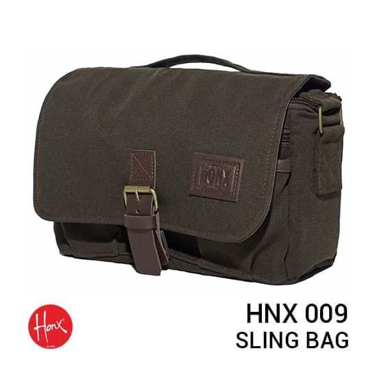 Jual HONX HNX 009 Sling Bag Brown Harga Murah dan Spesifikasi
