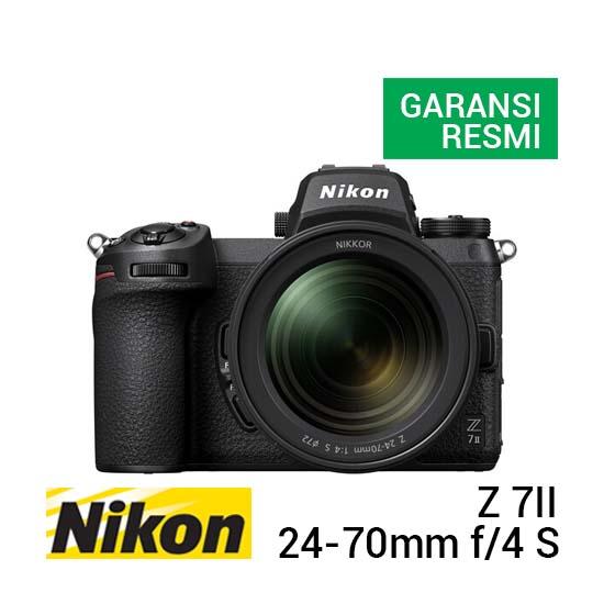 Jual Nikon Z 7II Kit 24-70mm f4 S Harga Terbaik dan Spesifikasi