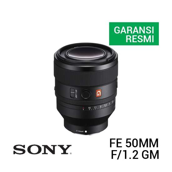 Jual Sony FE 50mm f1.2 GM Harga Terbaik dan Spesifikasi