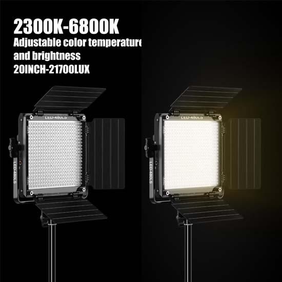 Jual GVM LED Bi-Color Light 480LS-B2L Harga Murah dan Spesifikasi