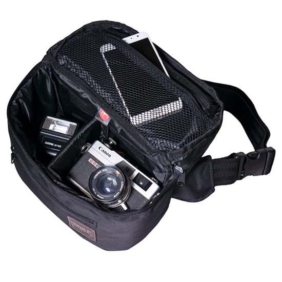 Jual HONX HNX 010 M Waist Bag Black Harga Murah dan Spesifikasi